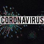 """banner which reads """"Coronavirus"""""""