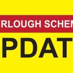 """yellow banner which reads """"Furlough Scheme Update"""""""